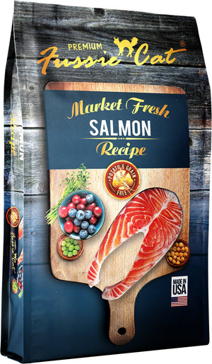 Fussie Cat Salmon Recipe