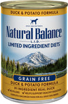 Natural Balance Limited Ingredient Duck & Potato Formula