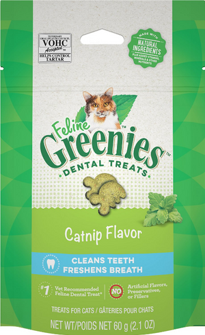 Greenies Feline Catnip Flavored