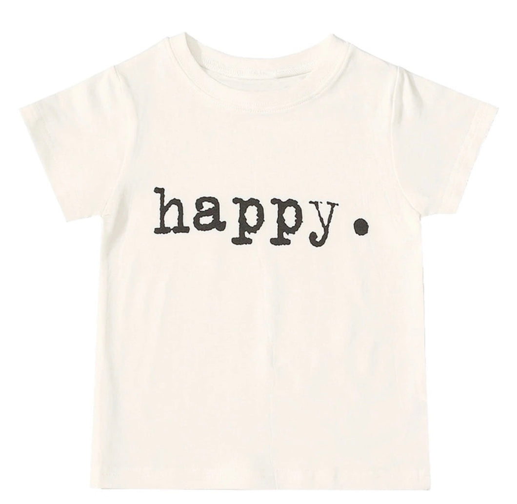 I AM HAPPY T-SHIRT