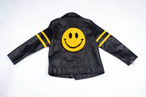 ALL SMILES BIKER JACKET