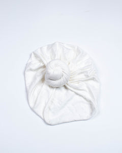 ORGANIC TOP-KNOT TURBANS