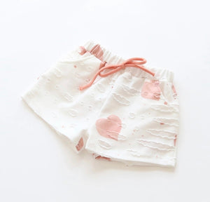 DISTRESSED SHORT SET