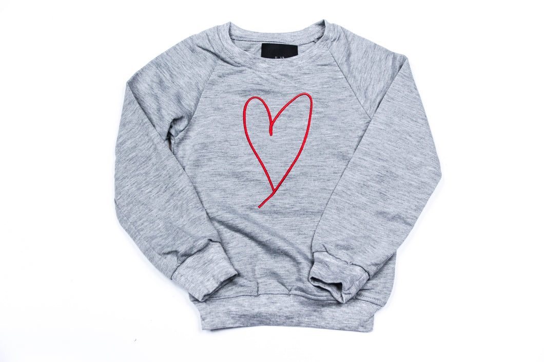 ALL WE NEED IS LOVE KNIT SWEATER