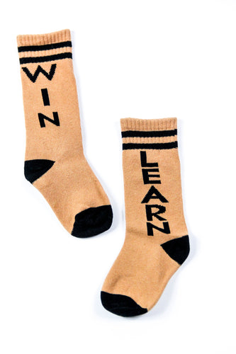 WIN/LEARN CREW SOCKS