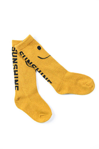 YOU ARE MY SUNSHINE CREW SOCKS