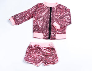 YOU SPARKLE SHORT SET