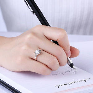 925 Sterling Silver Ring Fashion ring Korean version fashion ring