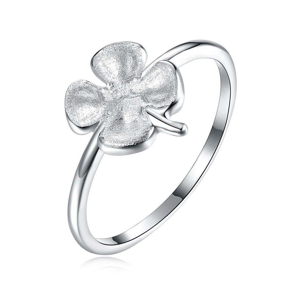 925 Sterling Silver Ring Fashion design lovely jewelry boutique clover