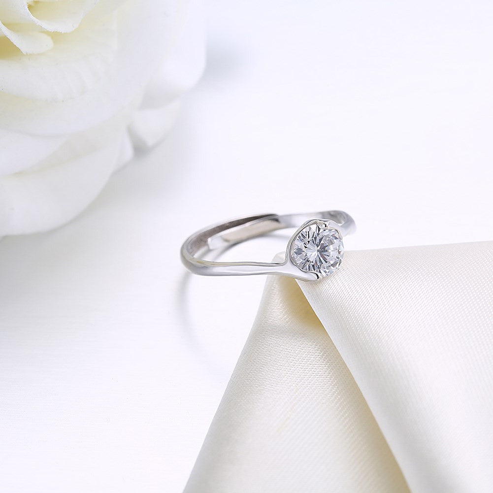 925 Sterling Silver Ring Fashion ring Korean trend