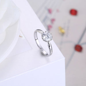 925 Sterling Silver Ring Fashion trend Ring simple generous style