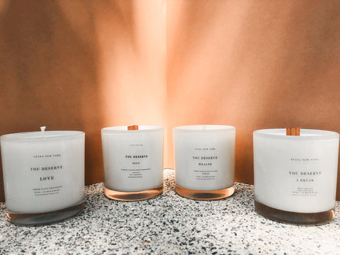 You Deserve It All Candle Collection