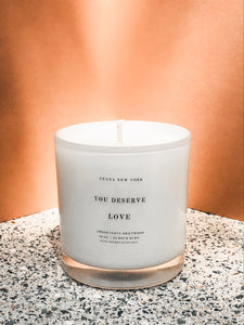 You Deserve Love 10oz. Candle