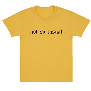 "Women's T-shirt ""Not so casual - Gothic"""