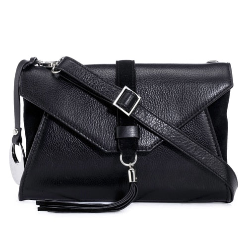 Phive Rivers Women's Black Crossbody Bag-PR1278