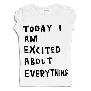"T-Shirt ""I'm Excited"""