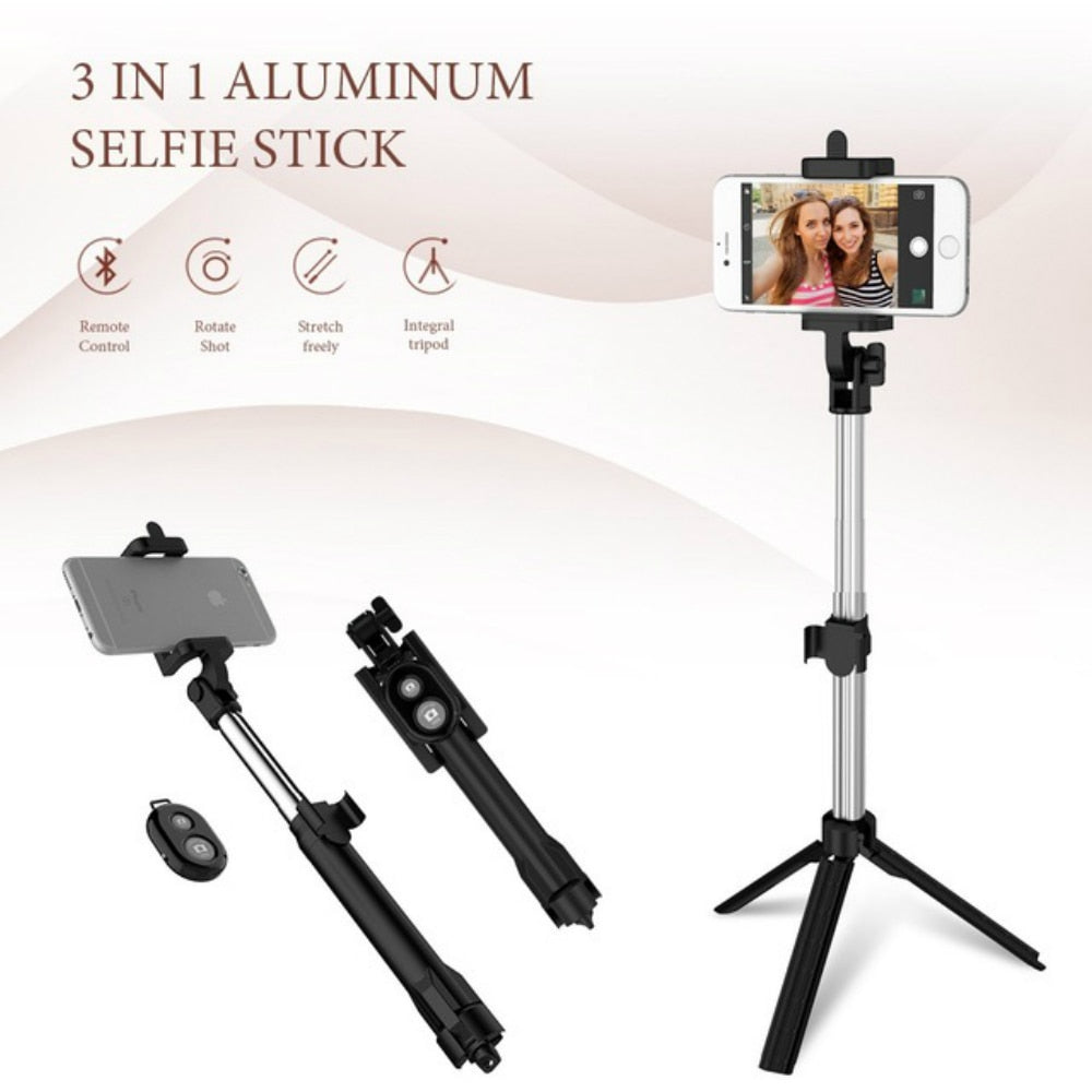 Foldable Selfie Stick Bluetooth