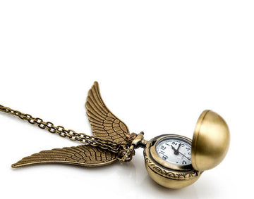 Harry Potter Snitch Watch Necklace