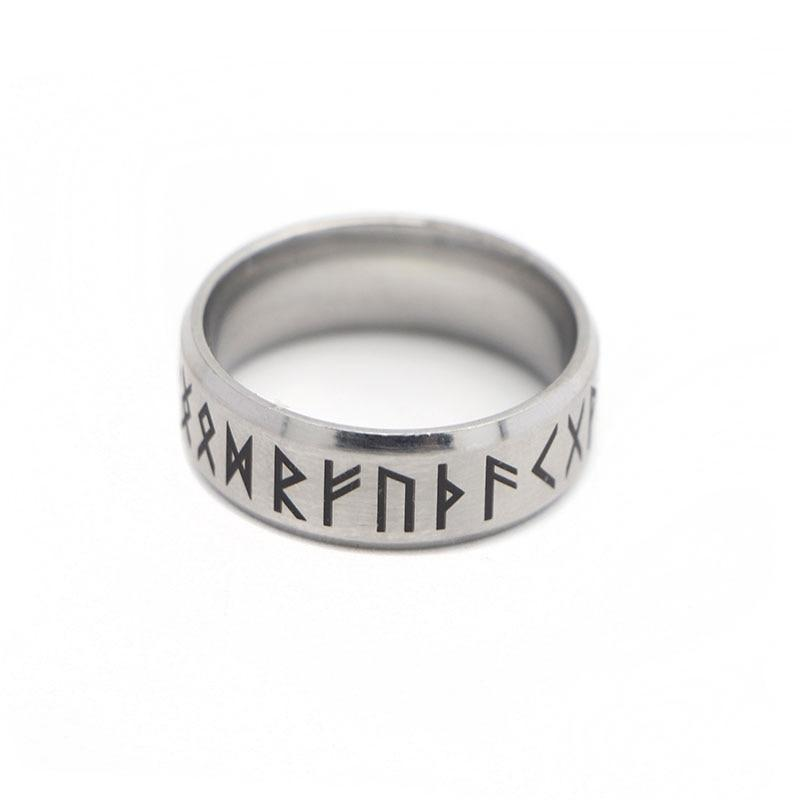 Vintage Norse Runes Ring