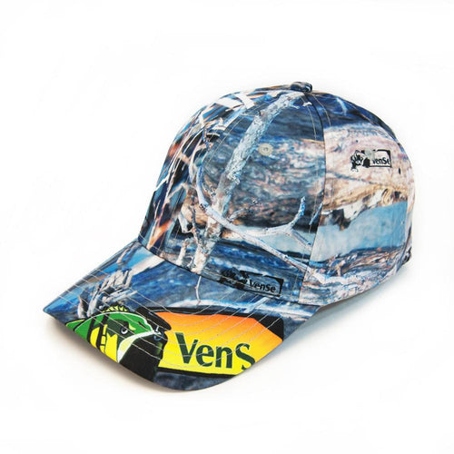 Full sublimated cammo baseball cap