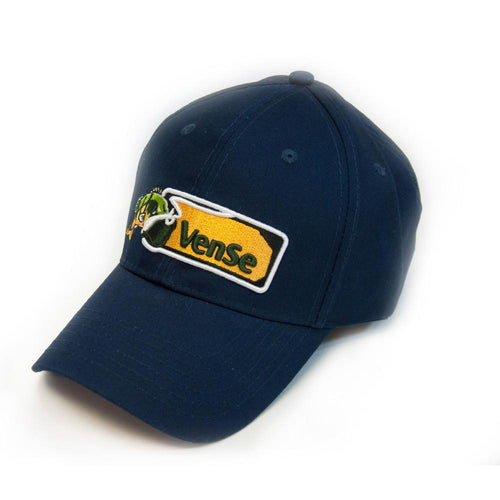 Single color embroidered baseball cap with logo
