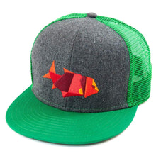 Load image into Gallery viewer, Flat bill mesh baseball cap/hat with logo