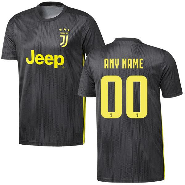finest selection f07fc e889e Juventus Third Custom Jersey 18/19