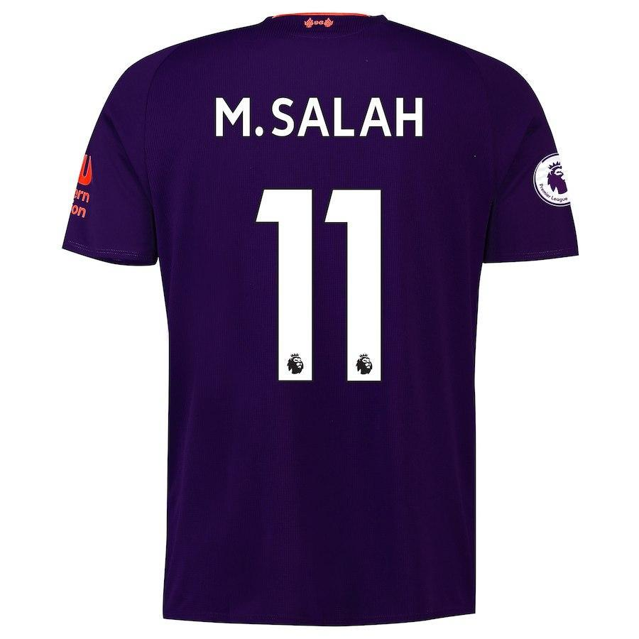 huge selection of 776ee ac95c Liverpool M.Salah Away Jersey 2018/19