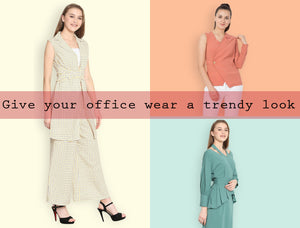 9 to 5 chic : A Look book for stylish office wears '18