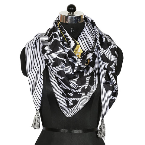 Contemporary Aztec Print Scarf