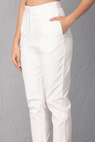 White Denim Co-ord Set