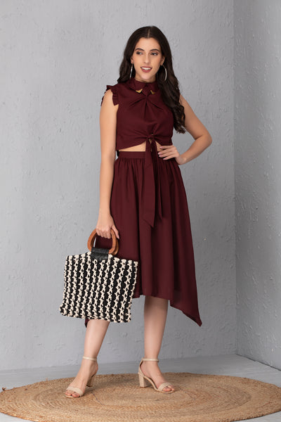 Wine Co-ord Set