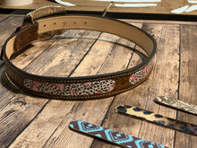 Load image into Gallery viewer, The SmarTack belt features interchangeable inlays to keep your belt Smart
