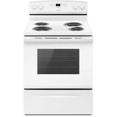 Amana 4.8 cu. ft. Freestanding Electric Range with Bake Assist Temps