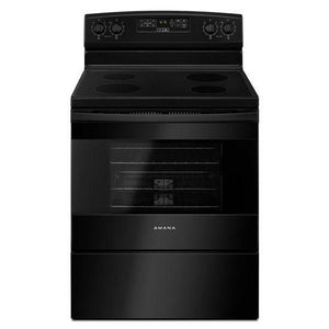Amana 4.8 cu. ft. Freestanding Electric Range with Extra-Large Oven Window