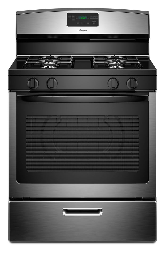 Amana 5.1 cu. ft. Freestanding Gas Oven Range with Sealed Gas Burners