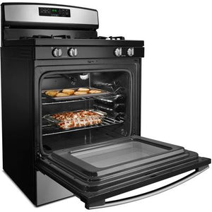 Amana 5.0 cu. ft. Freestanding Gas Range with Self-Clean Option
