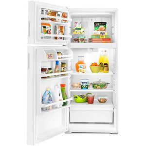 Amana14 cu. ft. Top Freezer Refrigerator with Flexible Storage Options
