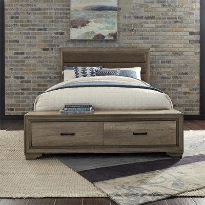 Sun Valley King Storage Bed