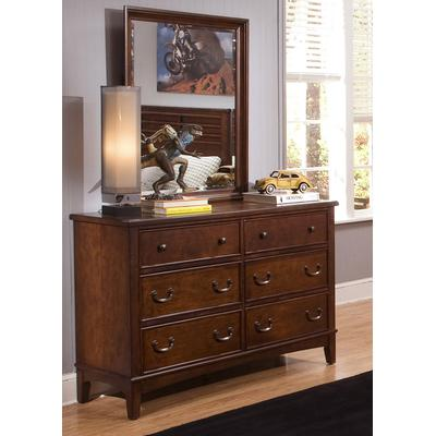 Chelsea Square Double Dresser and Mirror