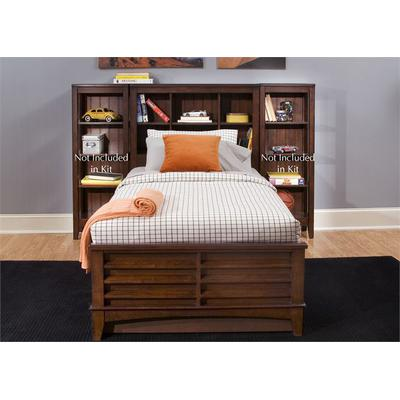 Chelsea Square Twin Bookcase Bed