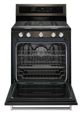 "KitchenAid 30"" 5-Burner Gas Convection Range"