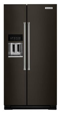 KitchenAid 22.7 Cu. Ft. Counter Depth Side-by-Side Refrigerator with Exterior Ice and Water