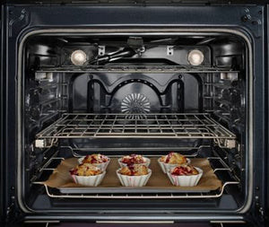 "KitchenAid 30"" 5-Burner Gas Convection Slide-In Range with Baking Drawer"