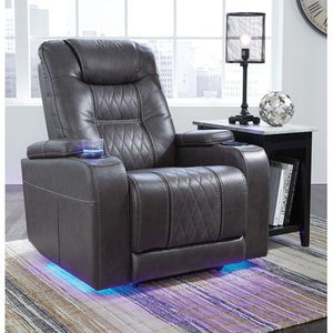 Signature Design Composer Power Recliner with Adjustable Headrest