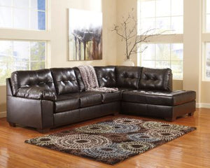 Signature Design Alliston Durablend 2-Piece Sectional
