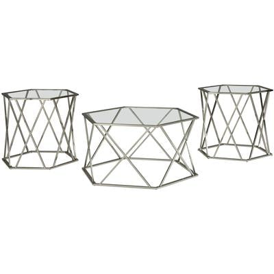 Signature Design Occasional Table Set (3/CN)