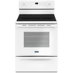 Maytag 30-Inch Wide Electric Range With Shatter-Resistant Cooktop - 5.3 Cu. Ft.