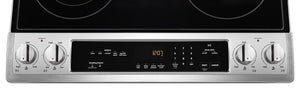 Maytag 6.4 cu. ft. Slide-In Electric Range With True Convection & Fit System