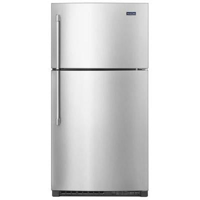 "Maytag 21 cu. ft. 33"" Top Freezer Refrigerator with EvenAir Cooling Tower"